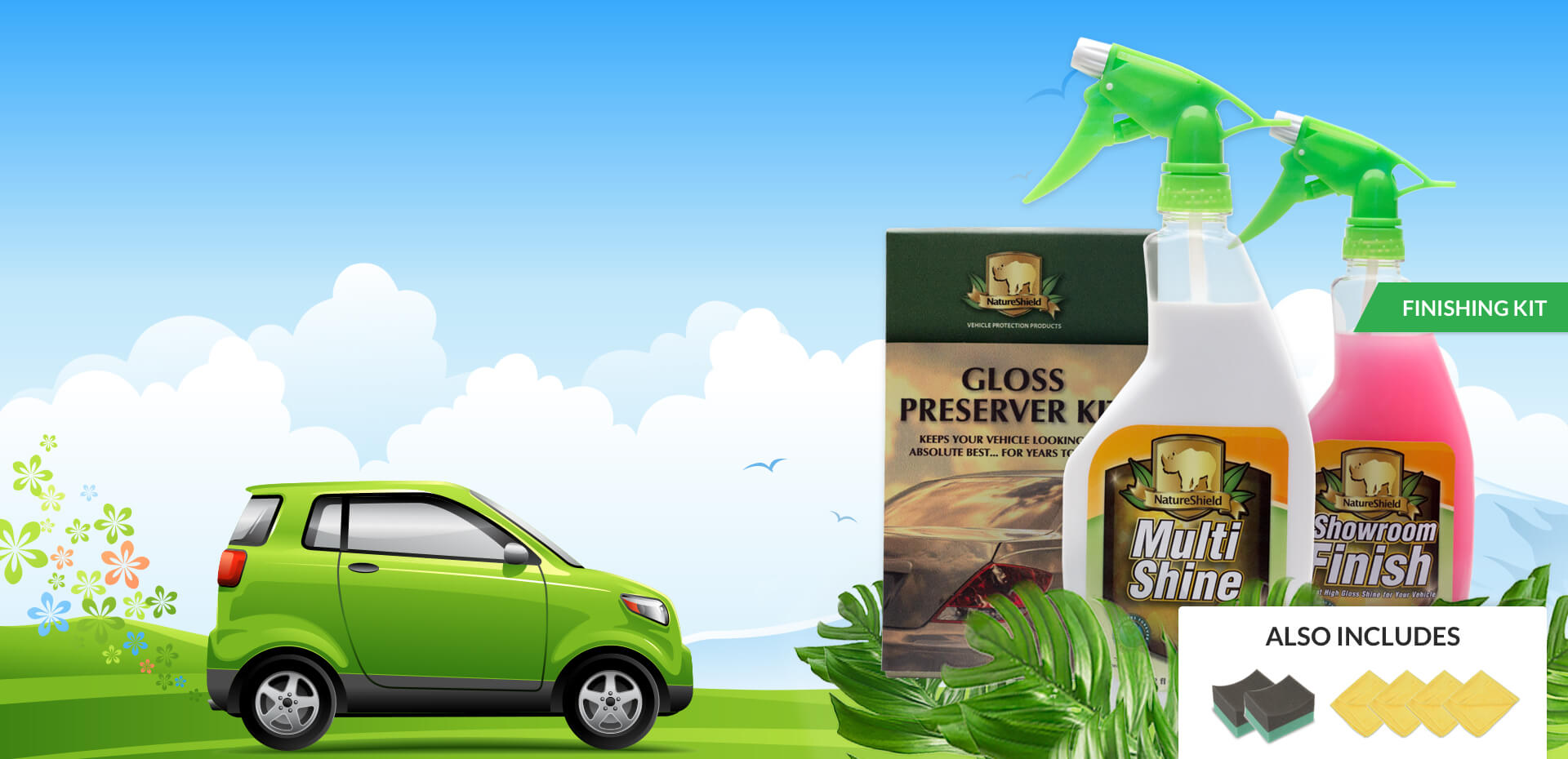 Nature Shield Vehicle Protection Products