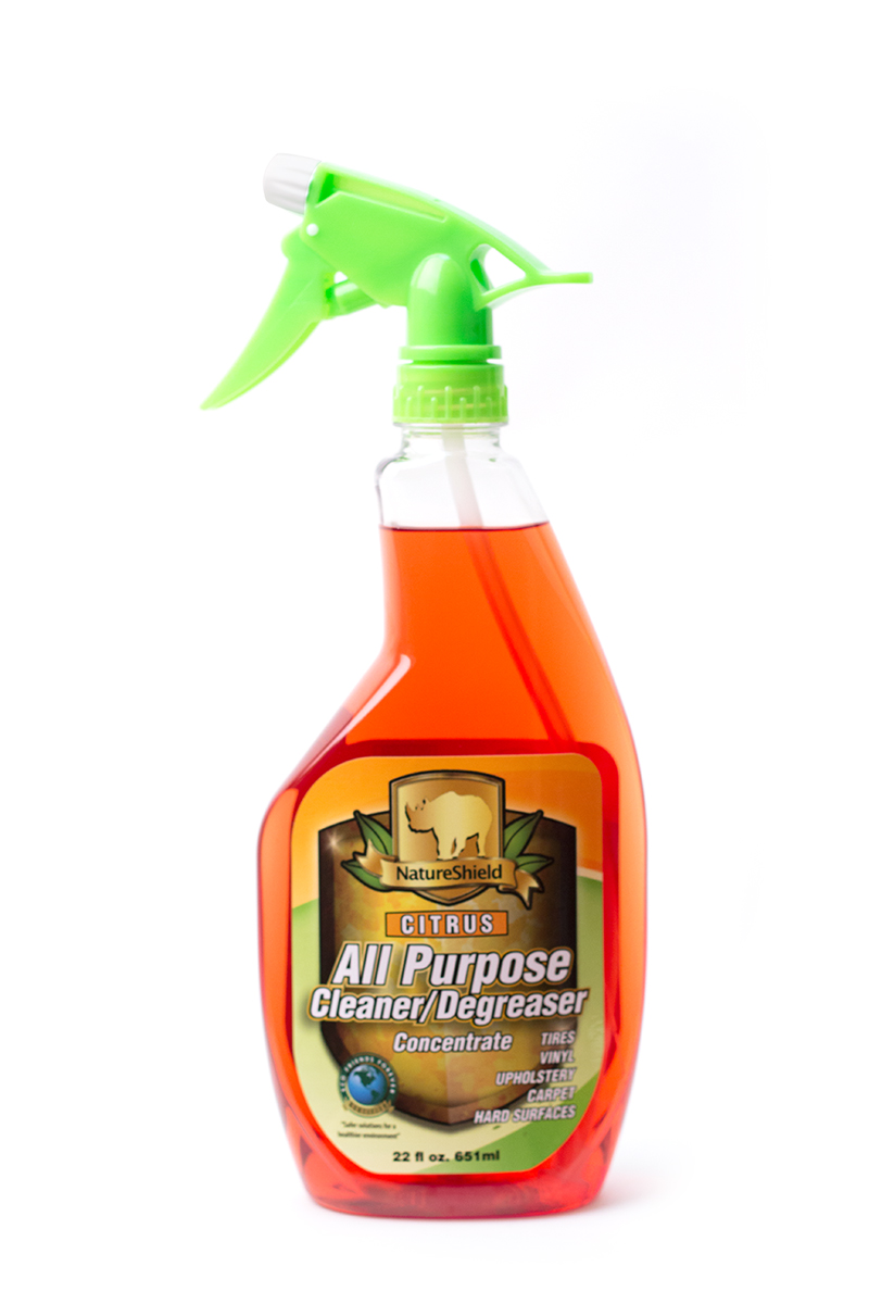 Citrus All Purpose Cleaner Degreaser Nature Shield