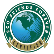 We are Certified Eco-Friendly